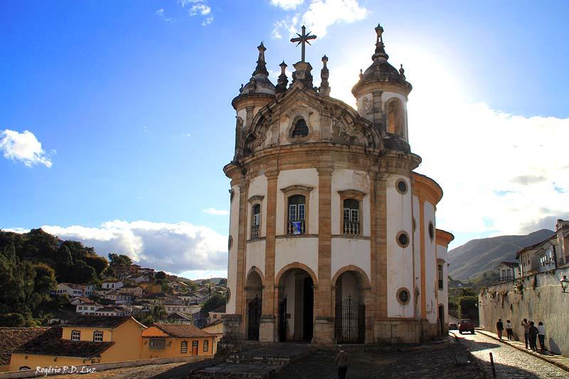 Beautiiful church in Ouro Preto